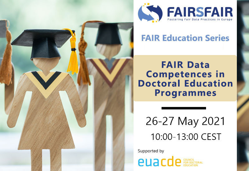 FAIR data competences in doctoral education programmes