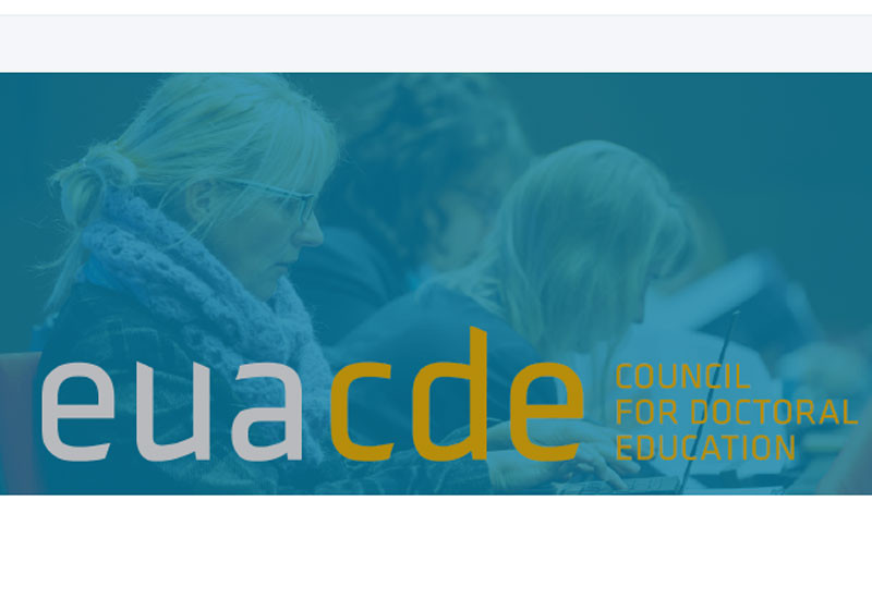 EUA-CDE Thematic Workshop - Webinar II: FAIR data management and research data in doctoral education