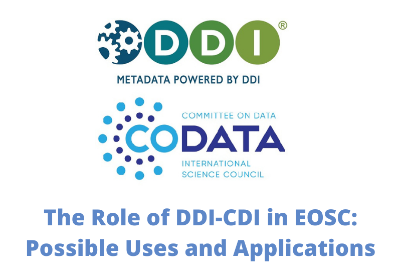 The Role of DDI-CDI in EOSC: Possible Uses and Applications