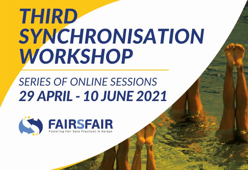 FAIRsFAIR Third Synchronisation Force Workshop