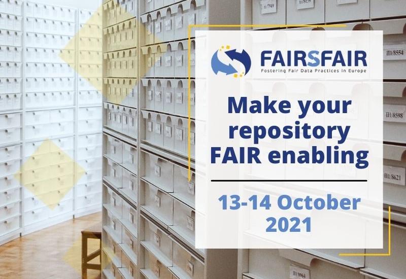Make your repository FAIR enabling: FAIRsFAIR Hackathon