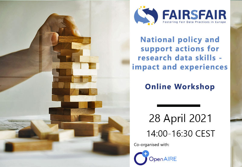 National policy and support actions for research data skills - impact and experiences