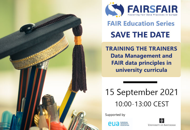 Training the trainers: Data Management and FAIR data principles in university curricula