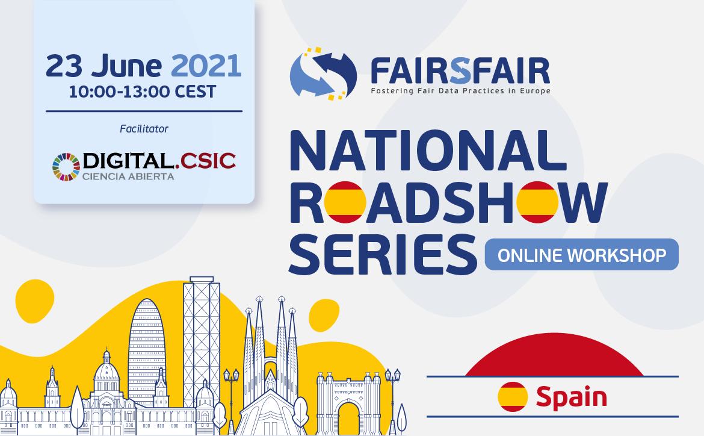 FAIRsFAIR National Roadshow Spain