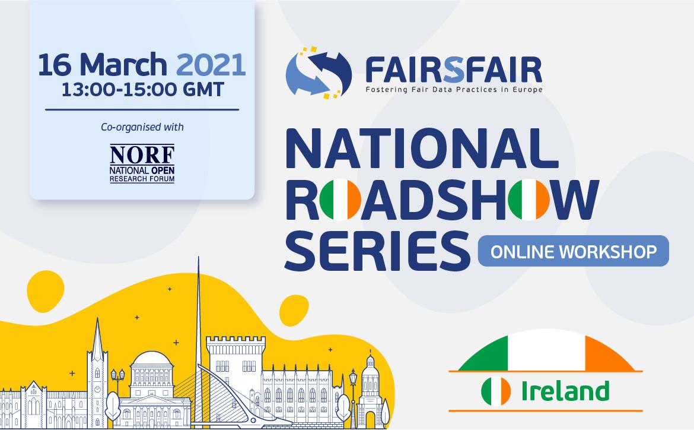 FAIRsFAIR Roadshow - Ireland